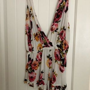 Kendall and Kylie floral romper
